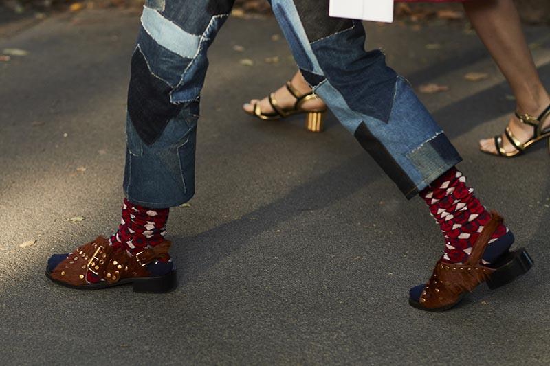 street shoes milan fashion week spring 2018