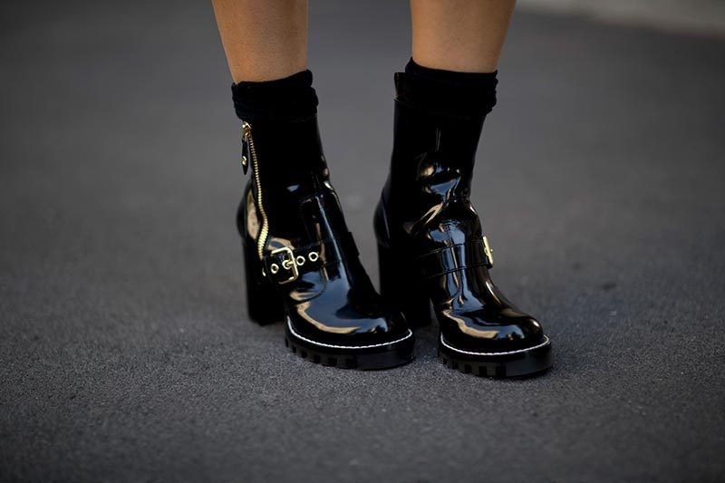 street shoes milan fashion week spring 2018