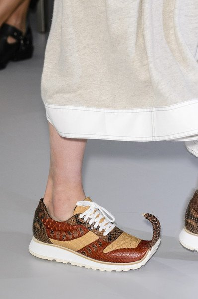 Wild Sneaker Trend Spring 2018 Are Dominating Runway