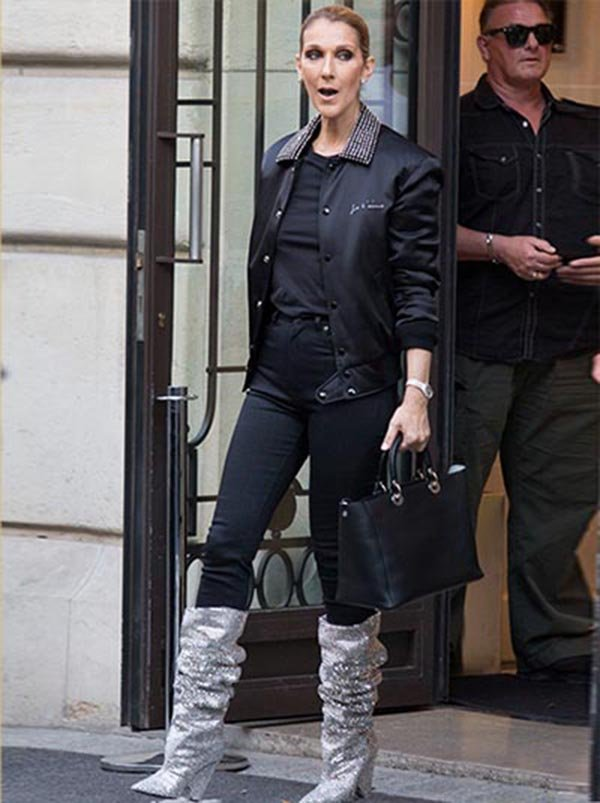 How To Wear Glitter Boots Like Style Stars
