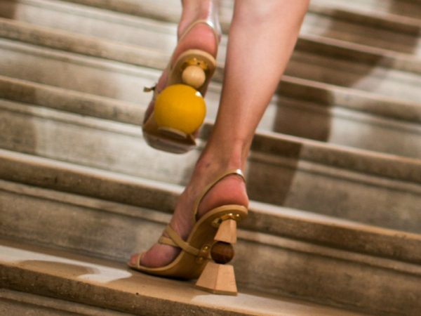 Jacquemus Mismatched Shoes Spring 2018