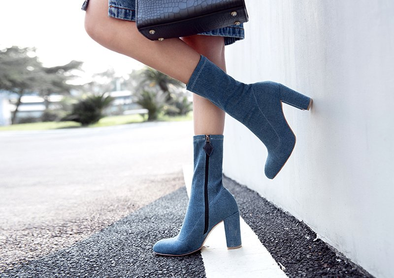 Sock boots trend