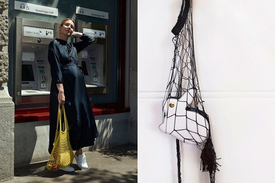 String Net Grocery Bag Trend