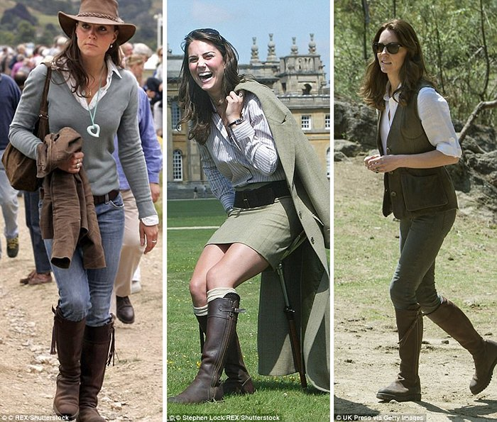 Kate Middleton knee high boot style