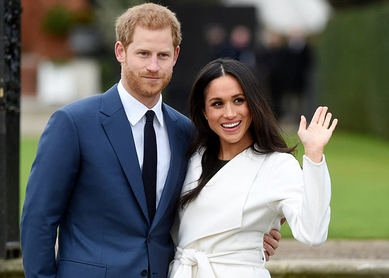Meghan Markle engagement style