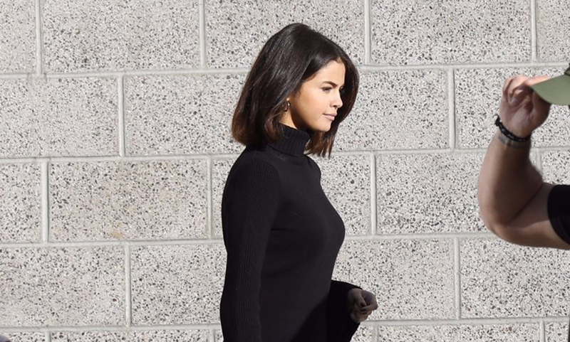 Selena Gomez chelsea ankle boots