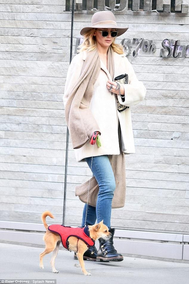 Jennifer Lawrence combat boots style