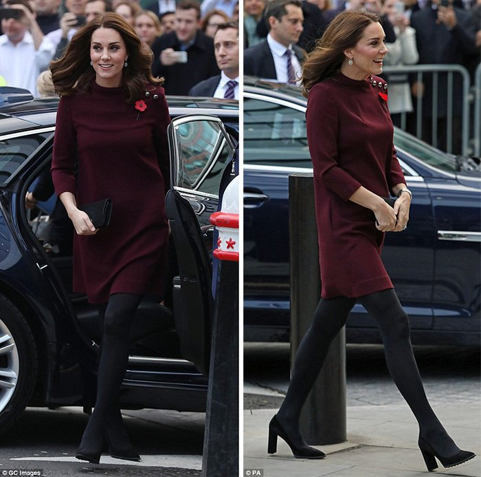 Kate Middleton new shoe style