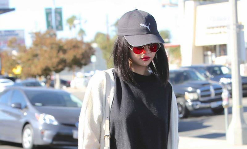 Selena Gomez Flatform Loafers