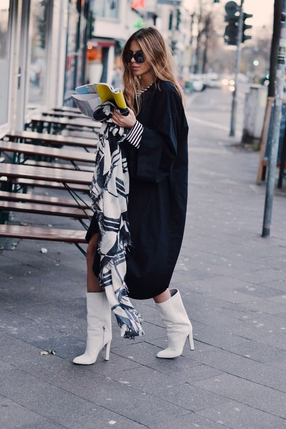 White Boots Trend