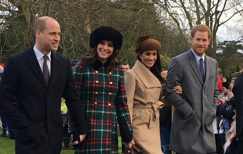 Kate Middleton Meghan Markle Christmas styles
