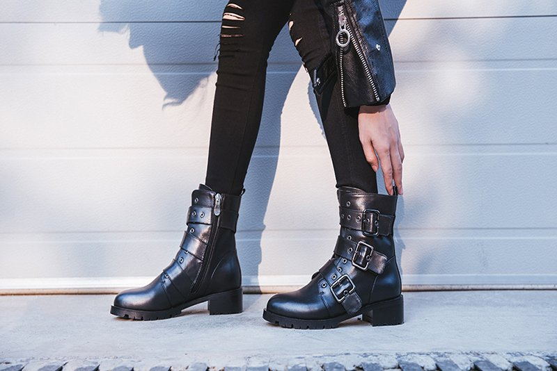 Best ankle boots skinny jeans street styles