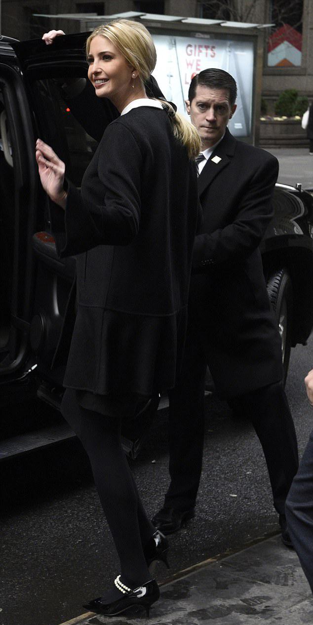 Ivanka Trump pearl Mary-Jane pumps