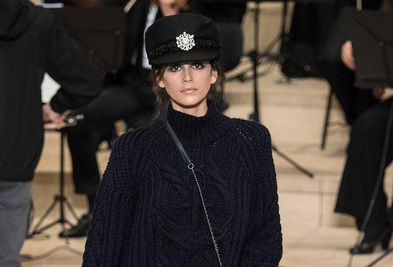 Kaia Gerber Chanel Shoes Pre-Fall 2018