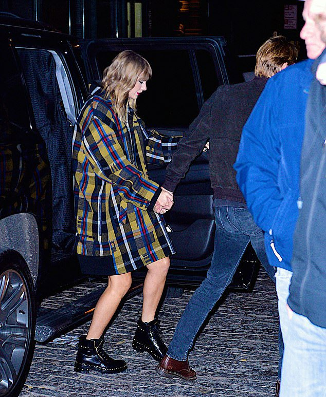 Taylor Swift Combat Ankle Boots Style