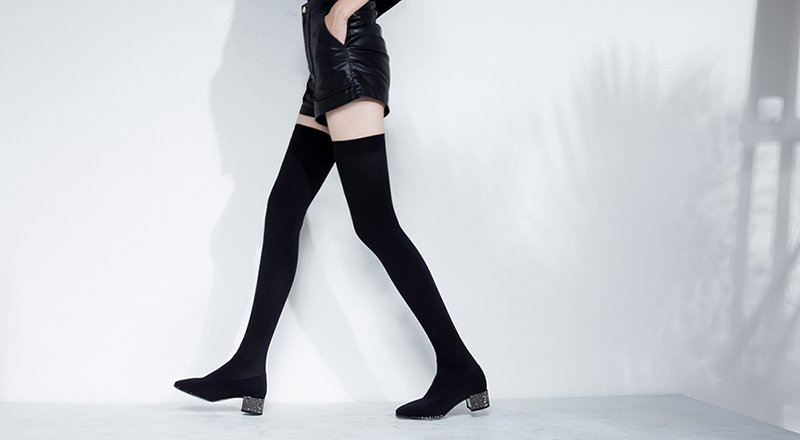 best thigh high boots style