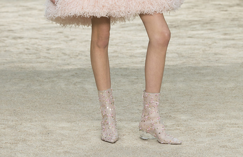 Chanel shoes haute couture spring 2018