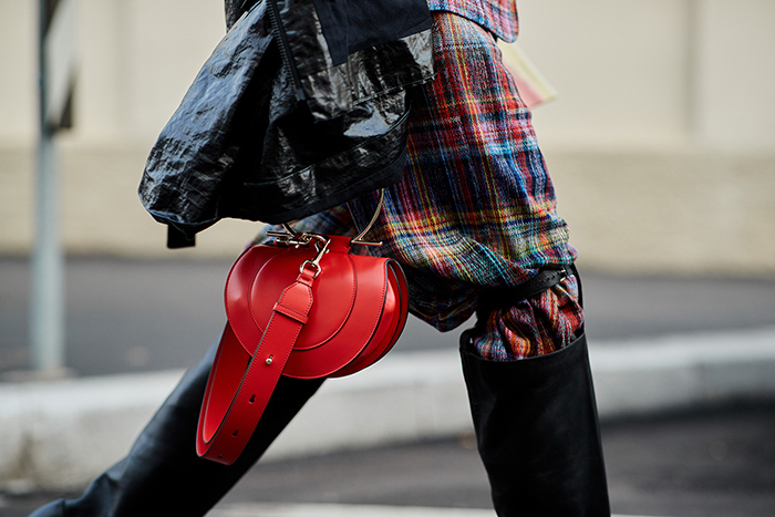 Street style Milan fashion week fall 2018