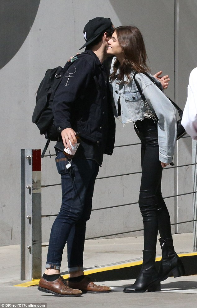 Kaia Gerber ankle boots style
