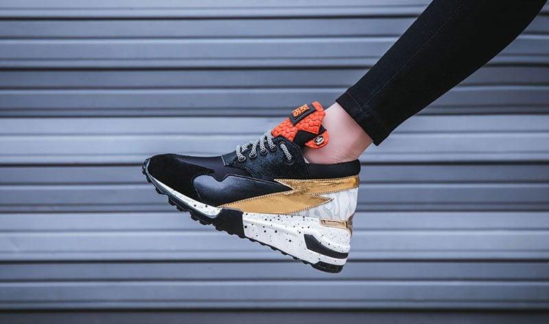 Platform dad sneaker trend