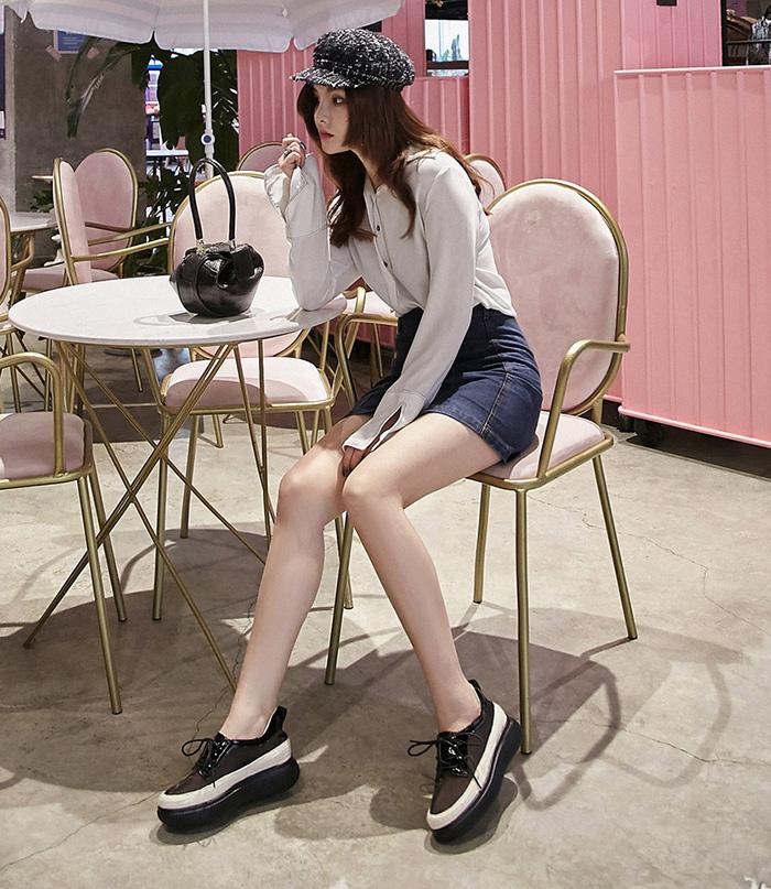 Chiko Abubakar Sheer Flatform Sneakers