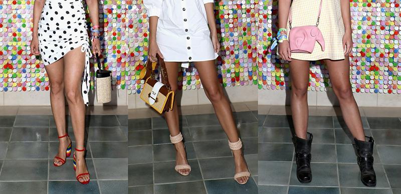 Coachella 2018 celebrity shoe styles