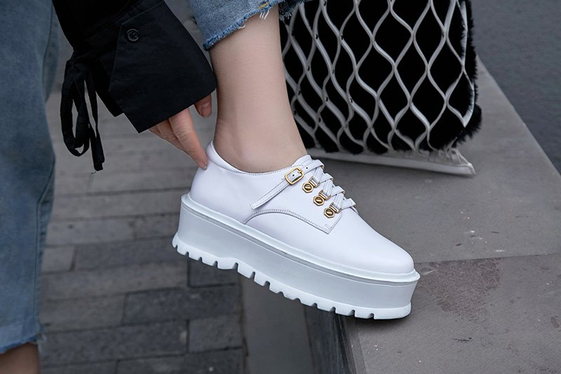 ba277e67ed New ugly sneaker trend is elevated with chic platforms