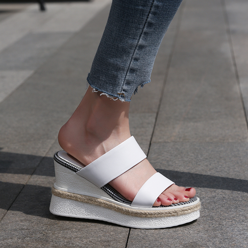 Chiko Menes Strap Platform Wedge Sandal Slides