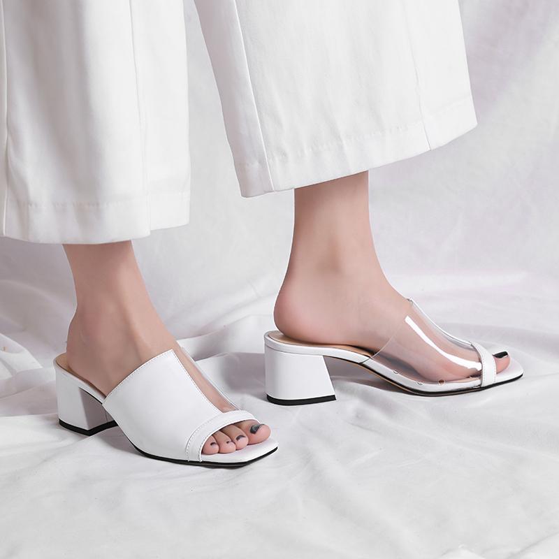 Chiko Nen Mismatch PVC Sandal Slides