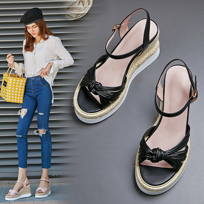 CHIKO AGATE ESPADRILLE WEDGE SANDALS