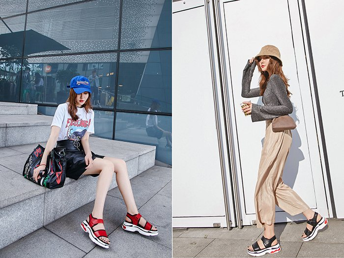 Chiko Oubastet Flatform Sneaker Sandals