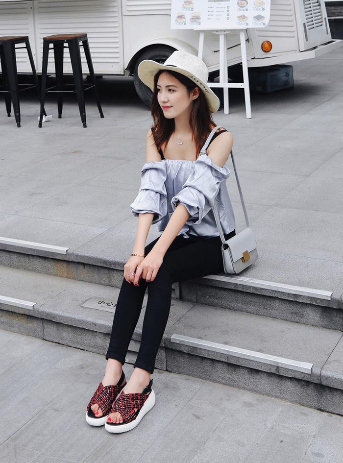 Chiko Adelle Cross Strap Flatform Sandals
