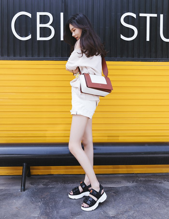 Chiko Adrien Athleisure Sporty Sneaker Sandals
