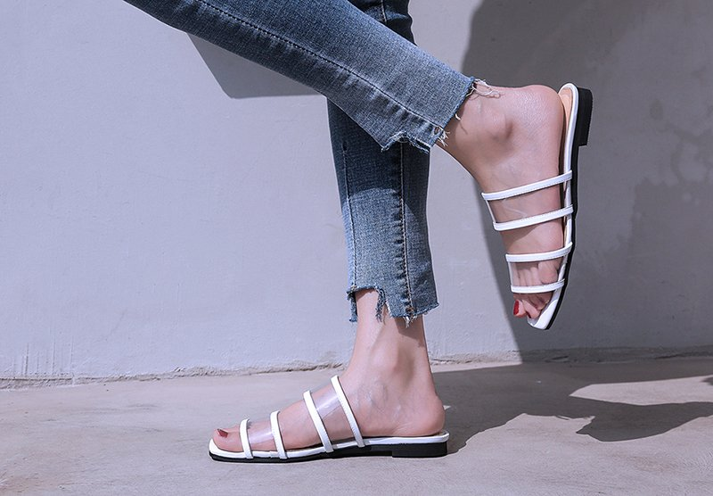 Clear pvc shoe trend