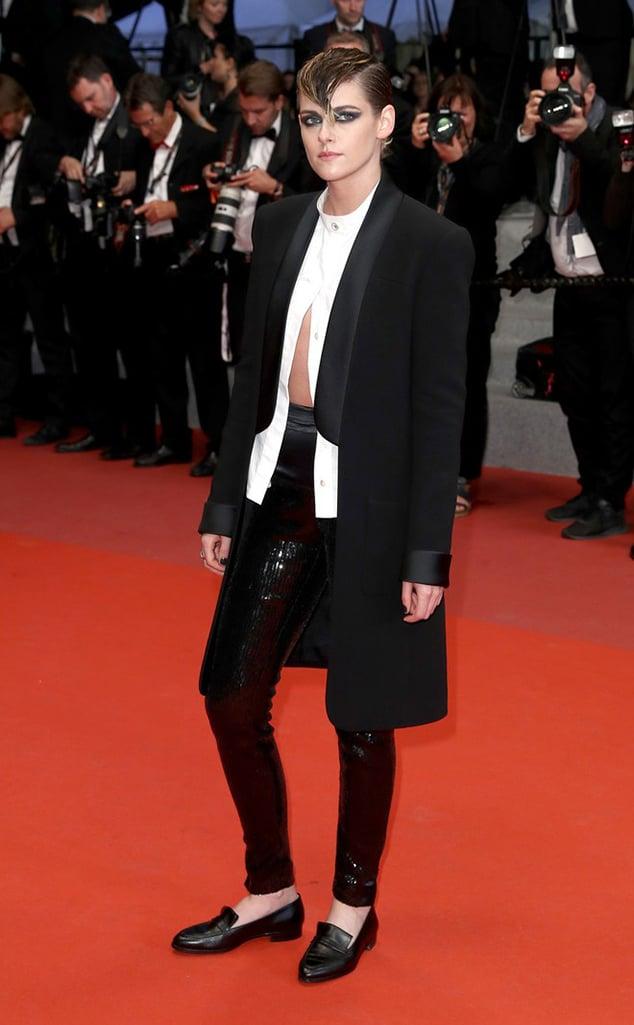 Kristen Stewart loafer shoes red carpet style