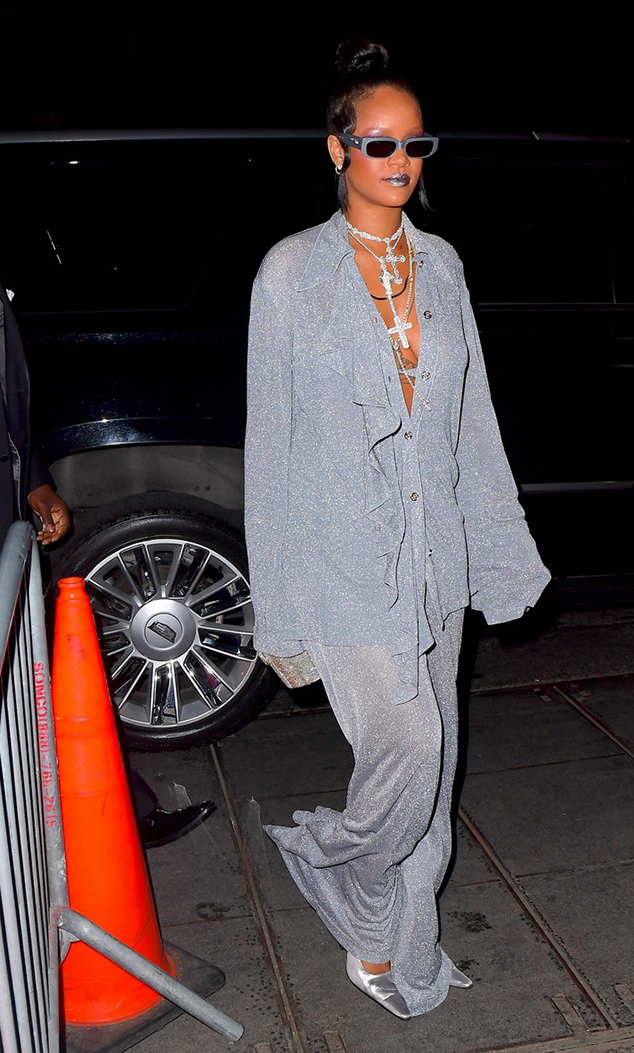 Rihanna Met Gala after party shoe style