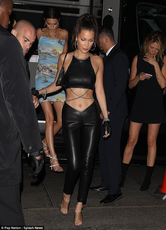 Bella Hadid Met Gala after party shoe style