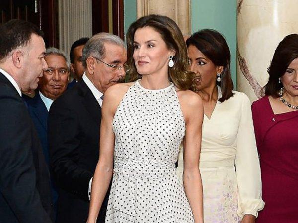 Clear PVC shoe trend spanish queen letizia