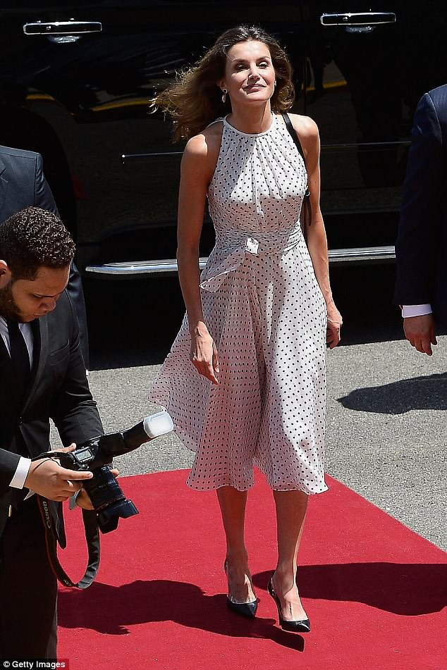 Spanish Queen Letizia Endorsed Clear PVC Shoe Trend In Her Own Elegant Way