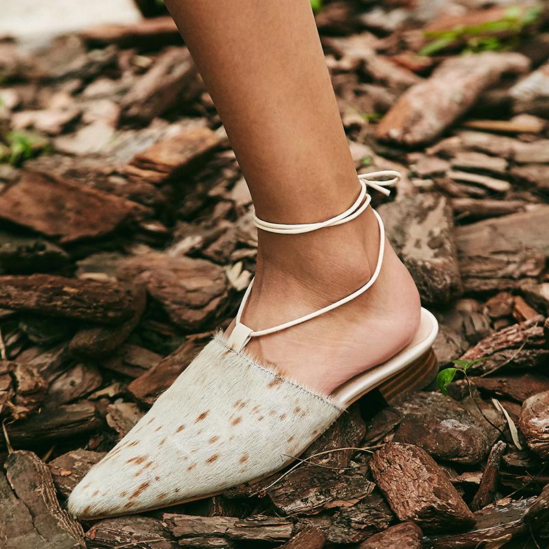 Ashford Block Heel Mules