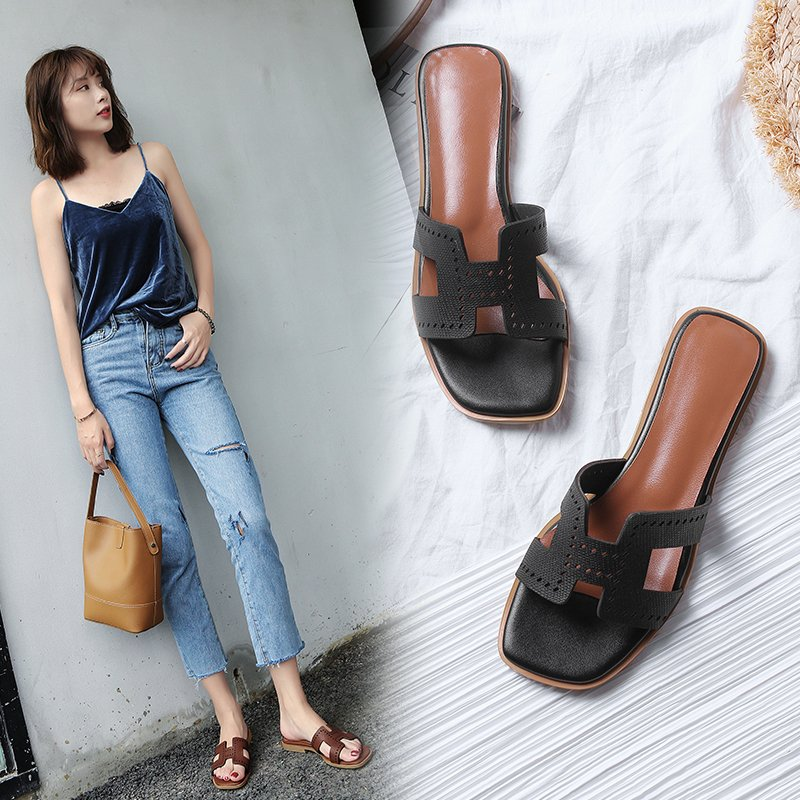 Ashli Cut Out Flat Sandals