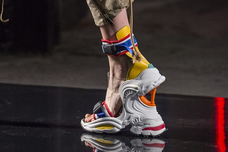 Dsquared2 sneaker sandals