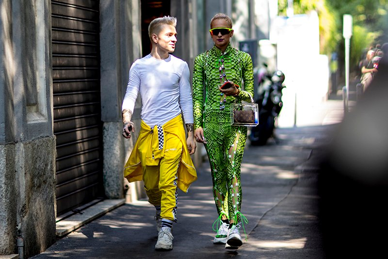 Milan street styles fashion week men spring 2019