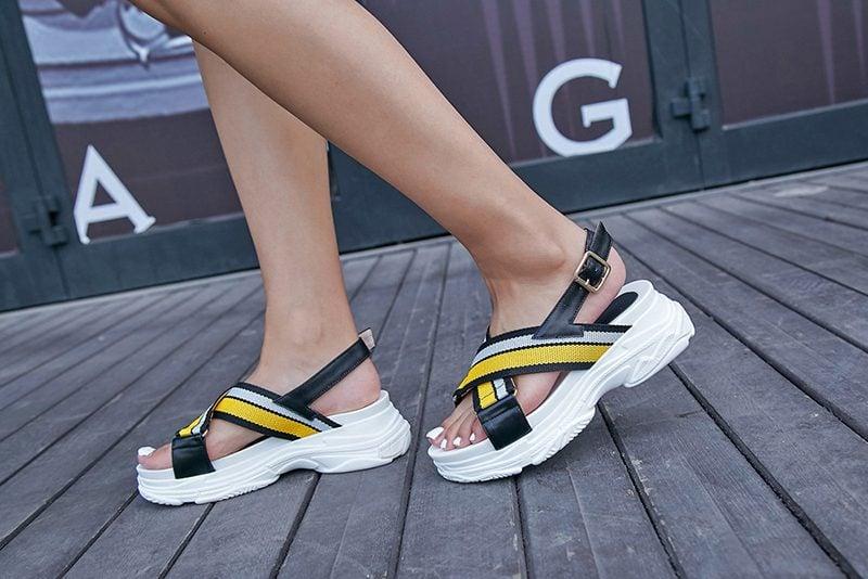 sneaker sandals styles