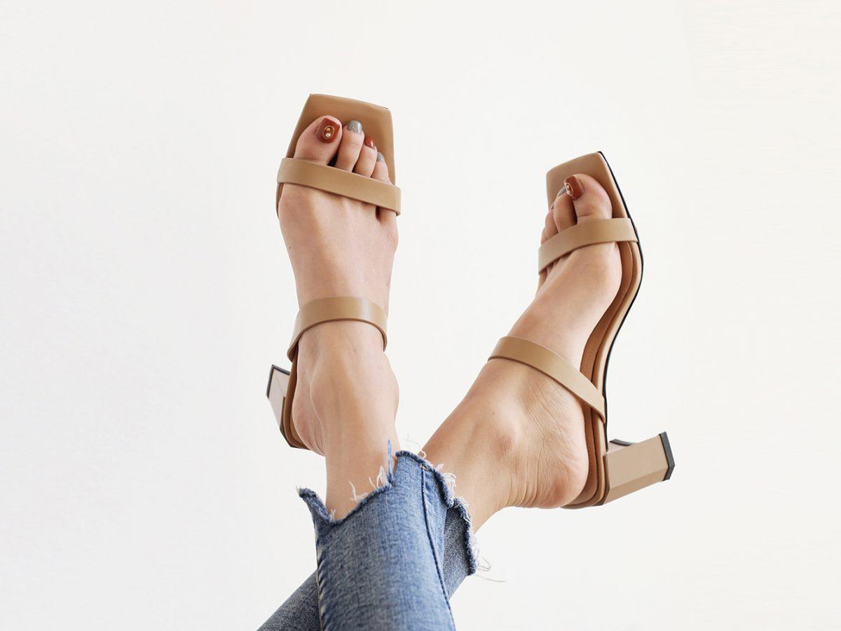 summer strappy sandals