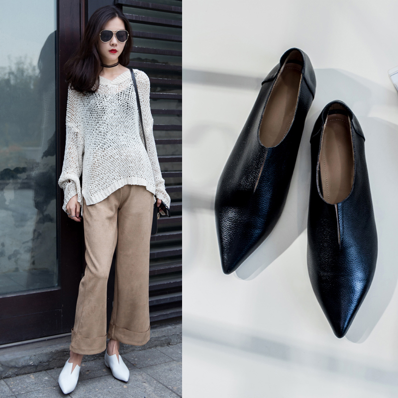 AUDREY CUT OUT SLIP ON LOAFERS
