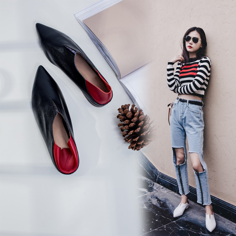 AUDRIANA CUT OUT SLIP ON LOAFERS