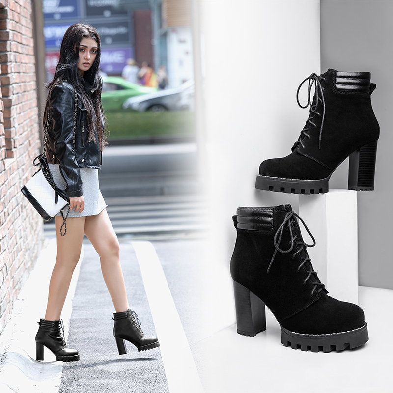 CHIKO AUDRY COMBAT ANKLE BOOTS