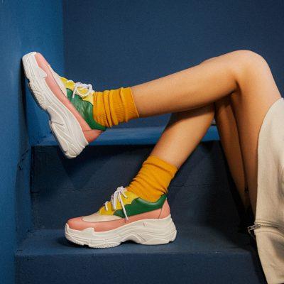Chiko Baylea Multicolor Dad Sneakers