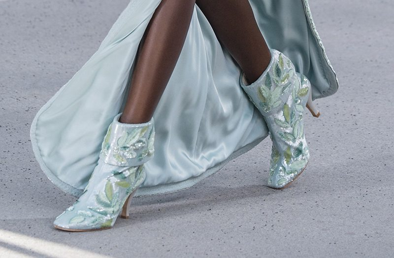 Chanel shoes couture fall 2018